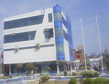 Oficina de Admisión en la sede principal de la Universidad César Vallejo en Víctor Larco Herrera
