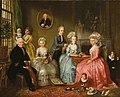 Adriaan de Lelie, De familie van Jan van Loon, 1786.jpg