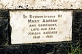 Adrian 'Old IRA' plaque, Oldtown, Co. Dublin.jpg