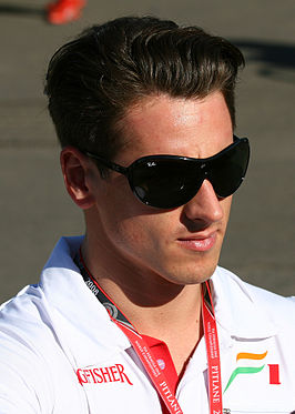 Adrian Sutil in 2008
