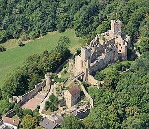 Wahrzeichen Lörrachs: Burg Rötteln