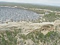 Aerial views of cliff dwelling areas where burning resulted from the Long Mesa Fire, Mesa Verde National Park, August 2002 (a9b4e914-b6dc-46cf-b91e-9bc6caf2f53f).jpg