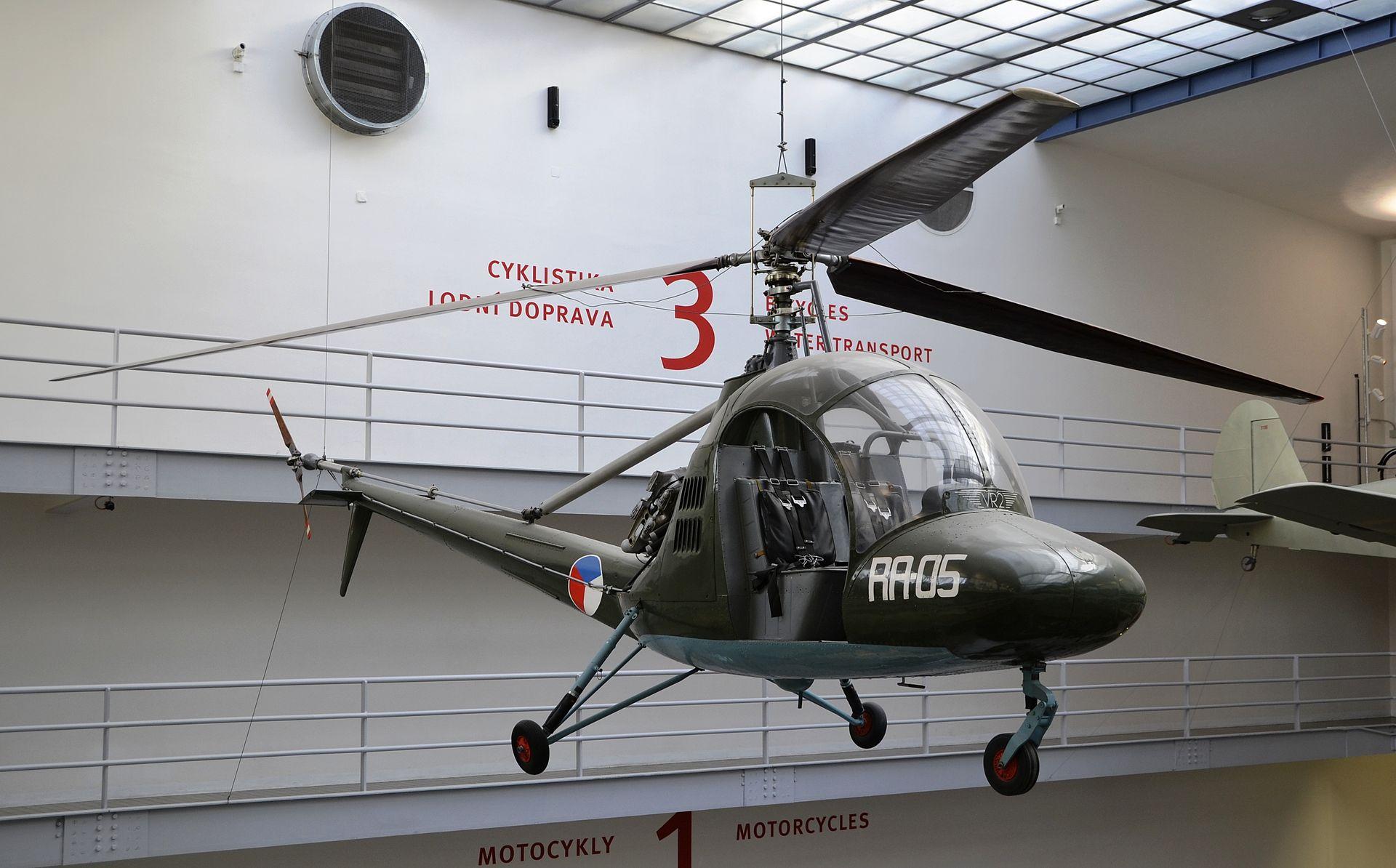 Aero HC-2 Heli Baby, National Technical Museum (Prague).JPG