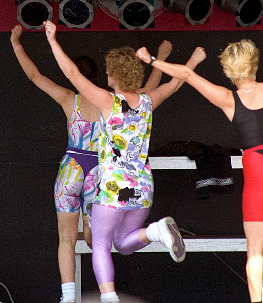 File:Aerobic exercise - public demonstration03.jpg