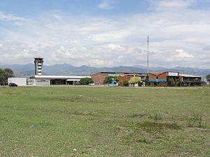 Cartago, Valle del Cauca -  Santa Ana Airport. Cartago, Valle del Cauca, Colombia.