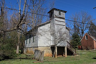 New London, Virginia - Front view of the African American Church
