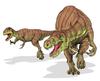 Afrovenator abakensis dinosaur