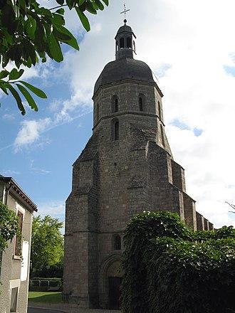 Aigurande - The church in Aigurande