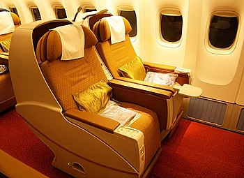 Enjoy a Comfortable Trip… in Business Class