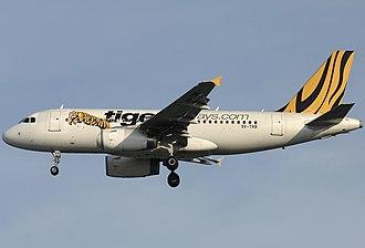 Tigerair - Tigerair A319-132 in 2009