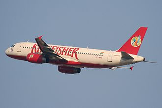 Kingfisher Airlines - Kingfisher Airbus A320-200