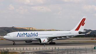 Air Madrid - Air Madrid Airbus A330.