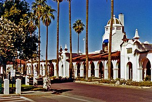 National Register of Historic Places listings in Pima County, Arizona - Image: Ajo Plaza