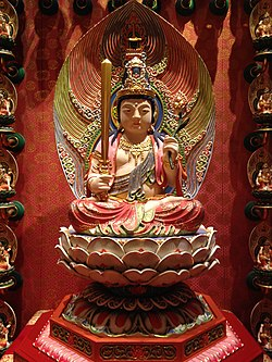 Akasagarbha at Buddha Tooth Relic Temple and Museum.JPG