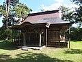 Akita-jinja in Yokote Castle Honmaru ruins 20130919-2.jpg