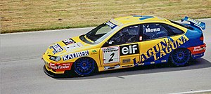 Super Touring - Renault Laguna built to Super Touring regulations competing in the British Touring Car Championship