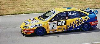 Super Touring - Renault Laguna built to Super Touring regulations competing in the British Touring Car Championship