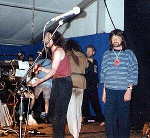 Trowbridge Village Pump Festival - Image: Alan Briars 1991