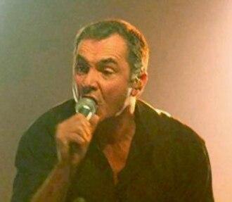 Alan Fletcher (actor) - Fletcher performing at the Barfly Club, Aberdeen, December 2008