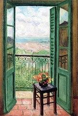 Fenêtre ouverte sur la baie d'Alger