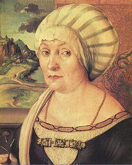 Ritratto di Felicitas Tucher. Albrecht Dürer ... 9d398a58057d