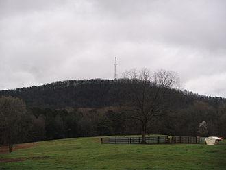 Alcovy Mountain - Alcovy Mountain Topo
