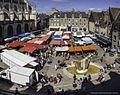 Alençon - Le Place de la Magdeleine - Le Marché.jpg