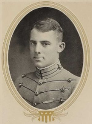 Adelbert Cronkhite - Alexander P. Cronkhite as a West Point senior in 1915.