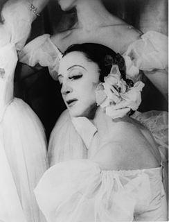 Alexandra Danilova American ballet dancer