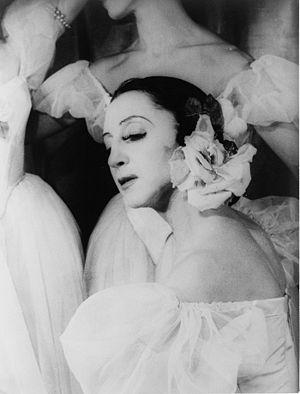 Alexandra Danilova - Danilova as Fanny Cerrito in Pas de Quatre, 1948