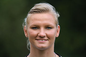 Alexandra Popp - Alex Popp with Duisburg in 2011.