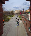 Alexandrovsky Garden - Upper Garden, view from Troitsky bridge (2015) by shakko 01.jpg