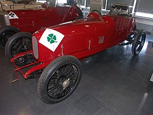 Alfa Romeo RL - Image: Alfa Romeo RL Targa Florio
