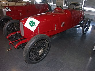 Alfa Romeo in motorsport - 1923 Alfa Romeo RL (Targa Florio racing version).