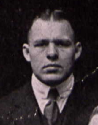 Alf Cobb - Cobb from 1919 Syracuse yearbook