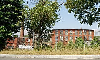 National Register of Historic Places listings in Fall River, Massachusetts - Image: Algonquin Print Works