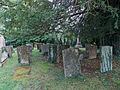 All Saints Church, Middle Claydon, Bucks, England - churchyard.jpg