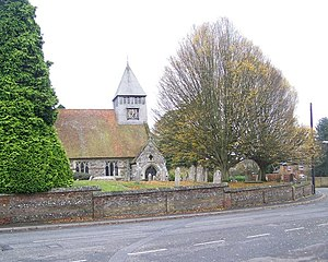 Whiteparish - Image: All Saints Church, Whiteparish geograph.org.uk 1052153
