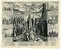 Allegorie op de Vrede van Westfalen in 1648 Zalig zynde voeten der geener die de vreede verkondigen (titel op object), RP-P-OB-68.267.jpg