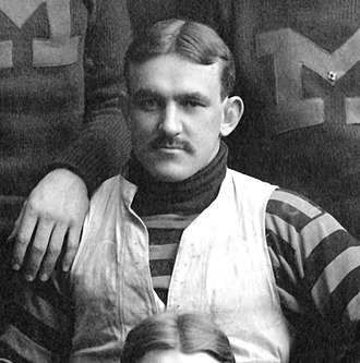 1899 Michigan Wolverines football team - Tackle and 1899 team captain Allen Steckle later became a collegiate coach.