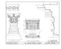 Alling House, 1012 Broad Street, Newark, Essex County, NJ HABS NJ,7-NEARK,8- (sheet 3 of 8).png