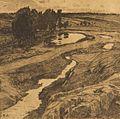 Alois Kalvoda Auf verlassenen Wegen 1903.jpg