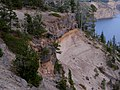 Along Crater Lake northern rim (3063765074).jpg