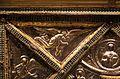 Altare di s. ambrogio, 824-859 ca., lato dx dei maestri delle storie di cristo, angeli e santi che adorano la croce gemmata 01.jpg