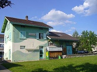 Bassersdorf - Image: Alter Bahnhof Bassersdorf