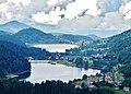 Altopiano di Piné (TN) con i 2 laghetti - m 1000 - panoramio.jpg