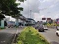 Aluva metro junction, Kerala, India.jpg
