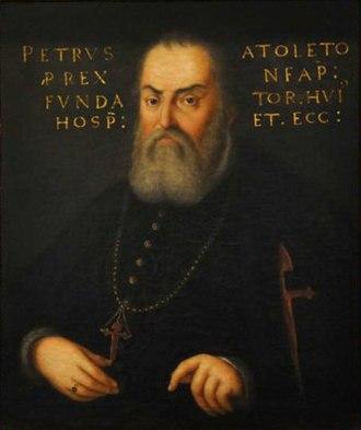 Pedro Álvarez de Toledo, Marquis of Villafranca - Image: Alvarez de Toledo, Pedro (Viceroy of Naples)