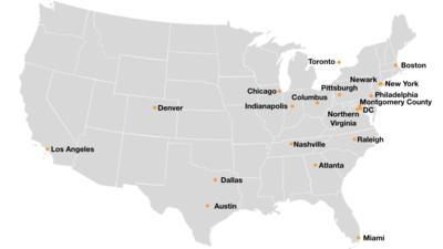 Amazon South Lake Union Campus Map.Amazon Hq2 Wikipedia