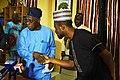 Amb. Oladele John Nihi and former Nigeria President, Olusegun Obasanjo.jpg